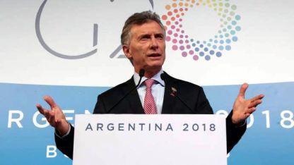 Macri anunció inversiones por U$ 3.000 millones.