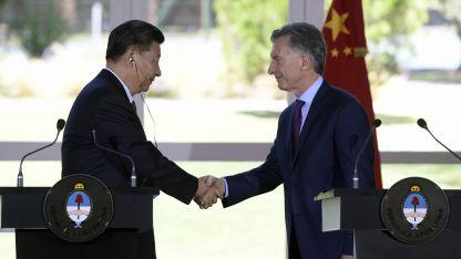 Los documentos fueron firmados por funcionarios argentinos y chinos.