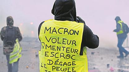 Bajo fuego. El sábado hubo 133 heridos y un muerto en París.