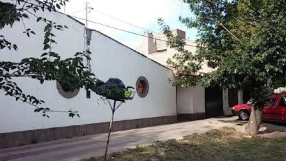 La casa en cuyo interior, después de un festejo, un hombre mató a una mujer y después se suicidó.
