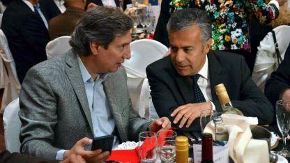 En paz. Félix y Cornejo mantenían las formas hasta que Cornejo fuera por la limitación de las reelecciones de los intendentes.
