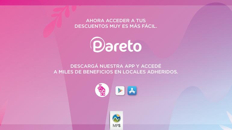 Pareto, la nueva APP con beneficios del Mendoza Plaza Shopping