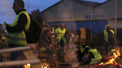El sábado pasado se produjeron graves incidentes y destrozos en París.
