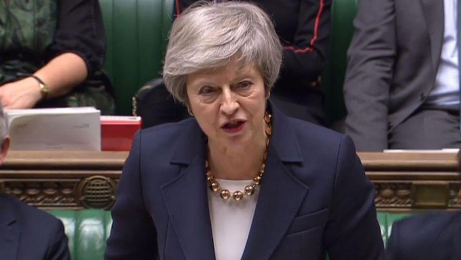 Inédita rebelión en el Parlamento británico complica a May