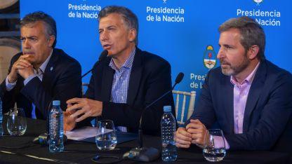 """De la cena participó la llamada """"mesa política ampliada"""" de Cambiemos."""