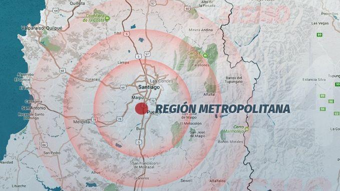 Fuerte sismo remece ciudades del centro chileno #5Dic