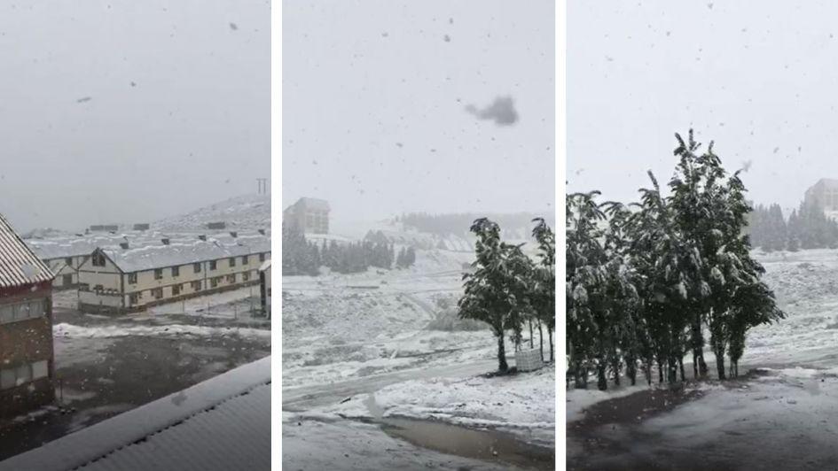 Video: así nevó en Las Leñas en pleno diciembre