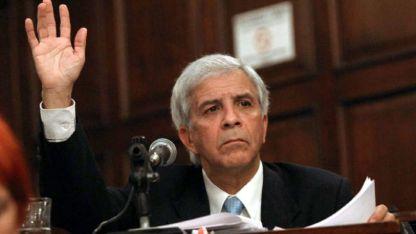 En el senado. Navarro llegó a la Cámara Alta en las listas del Partido Justicialista.