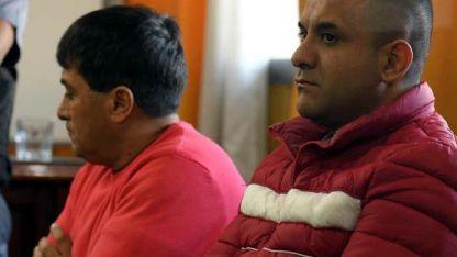 Condenados. Dos de los cuatro hombres sentenciados ayer.