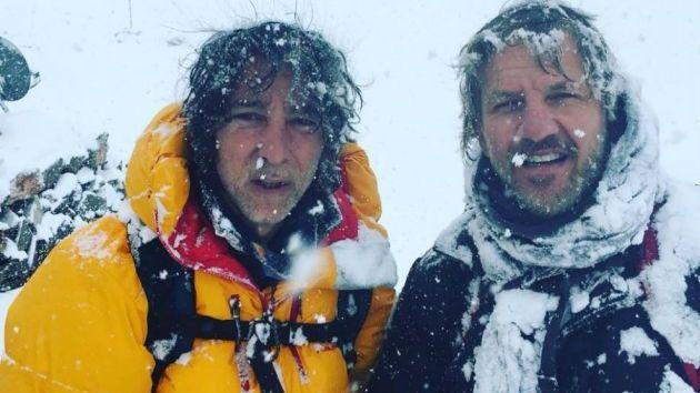 Aconcagua: Facundo Arana y Javier Calamaro se quedaron sin la cima por la tormenta