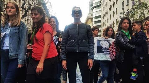 El reclamo de Emilia Attias por su cuñada asesinada