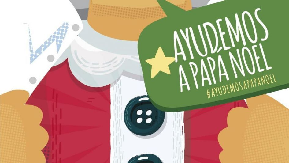 """Una campaña solidaria para """"ayudar a Papá Noel"""""""