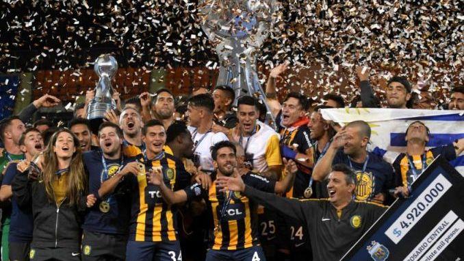 Festejo Canalla: ¡Central, campeón!
