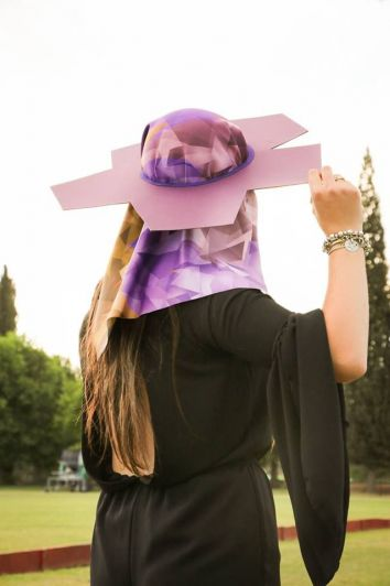 Concurso de sombreros para los acomodadores de la Fiesta de la Vendimia