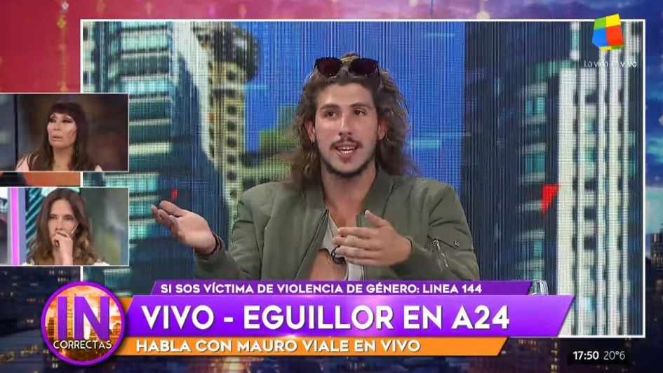 Nati Jota sobre Rodrigo Eguillor: