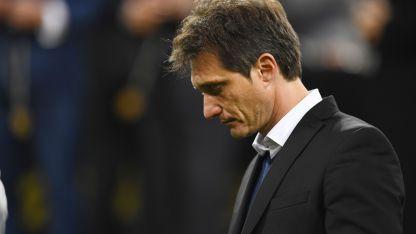 Decepción de Guillermo tras perder la Copa Libertadores frente a River.