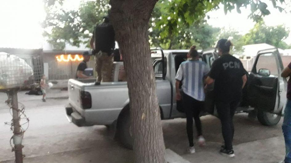 Desbarataron una banda narco que dos presos dirigían desde la penitenciaría de San Rafael