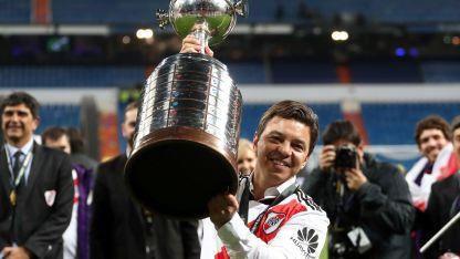 Marcelo Gallardo se convirtió en el entrenador más ganador de la historia de River junto a Ramón Díaz.