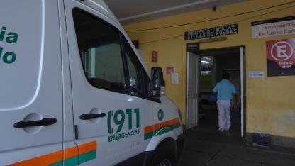 La víctima fue asistida en el hospital Lagomaggiore.