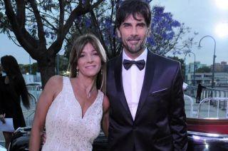 Juan Darthés y su mujer