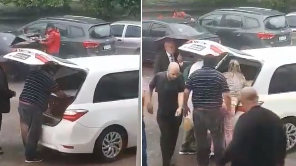 Impactante: se detiene un funeral por movimientos en un ataúd (vídeos)