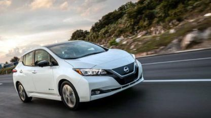 El 100 % electrico de Nissan se mostrará en las playas.