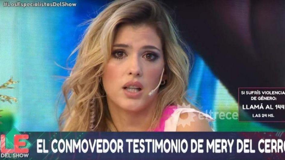 Mery del Cerro tras confesar que fue abusada: