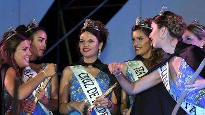 La nueva Reina maipucina. Ana Belén Rodríguez Buttini arrasó con los votos: obtuvo 40. Su virreina será Federica Massola.