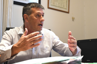 Alejandro Bermejo, intendente de Maipú.