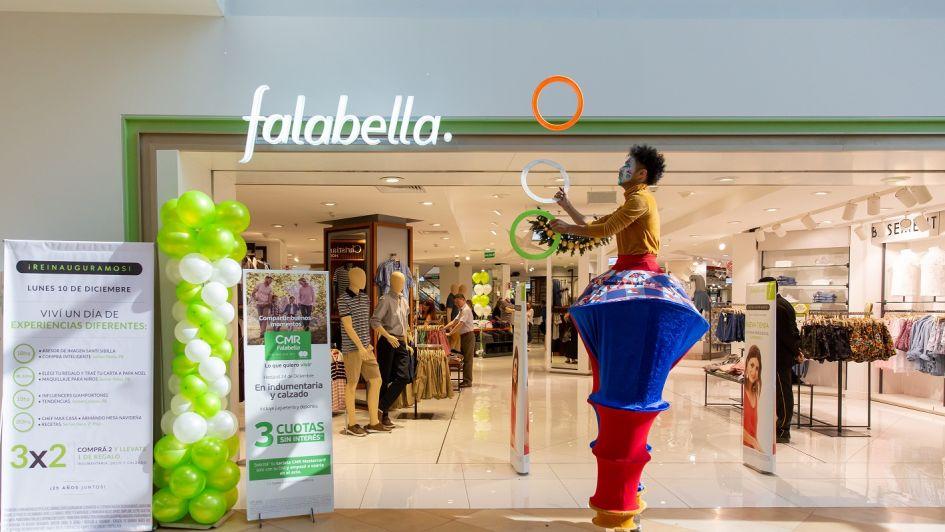 Falabella reinauguró su tienda en el Mendoza Plaza Shopping
