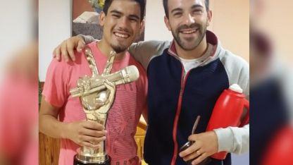 Mario y Braulio, juntos en el hotel tras el final de