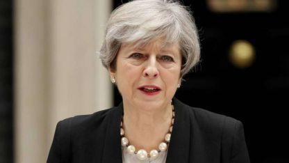 Ministra. Theresa May, presionada por propios y ajenos.