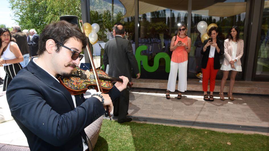 La Fundación Universidad Nacional de Cuyo festejó sus 40 años con un almuerzo