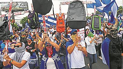 Crisis. Nicaragua atraviesa una grave situación.