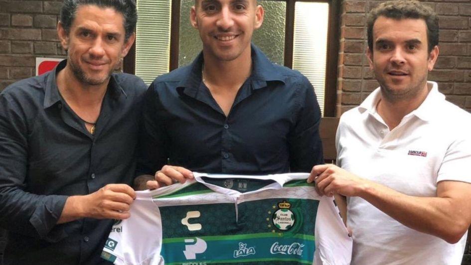 Javier Correa nuevo jugador del Santos Laguna