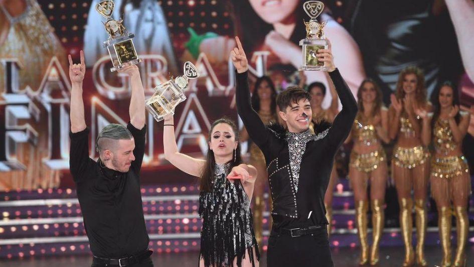 Sofi Morandi y Julián Serrano se coronaron campeones del Bailando 2018