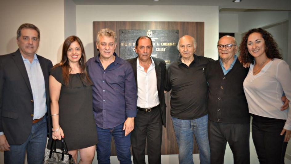 Giménez inauguró el Cine Teatro Colón Municipal de Palmira