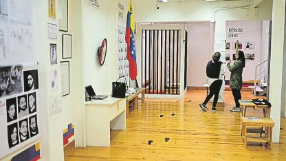 El museo guarda en su interior imágenes de un país sumido en una grave crisis.