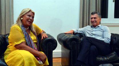 Confiada. Elisa Carrió asegura que Macri será reelecto este año.