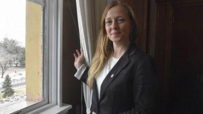 Paula Allasino. Ministra de Hacienda
