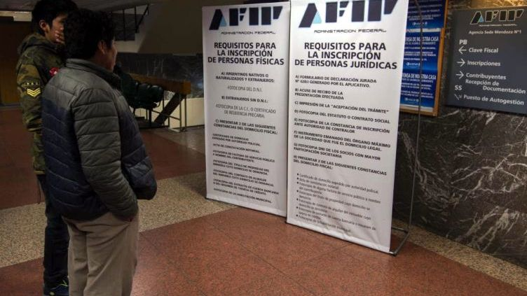 La página de la AFIP no funcionará las primeras horas de este martes