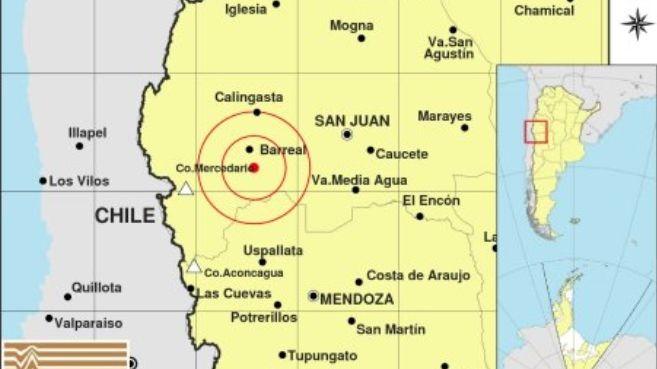 Tembló en San Juan y se sintió con mucha fuerza en Mendoza