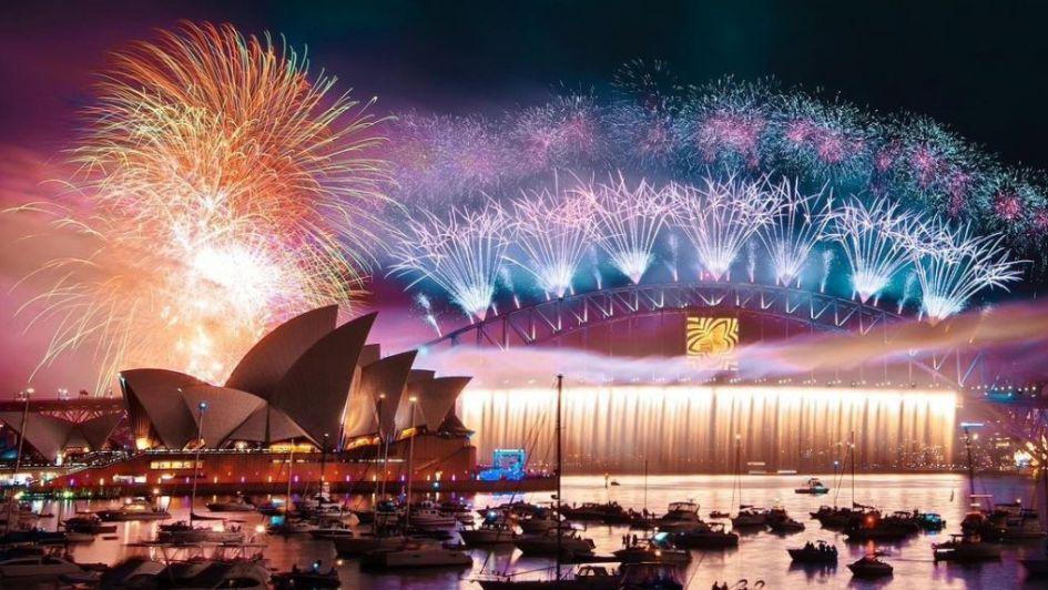 Fotogalería: así festejó el mundo la llegada de 2019