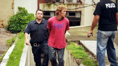 Violador. Uno de los acusados llega a declarar a la fiscalía.