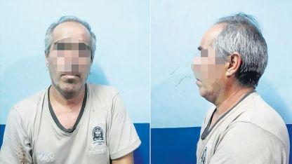 Juan Carlos Garcilazo (51)  se ahorcó con un cable extraído de un fuelle.