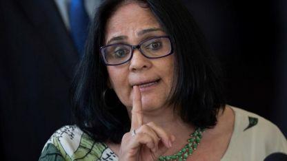 Damares Alves, la polémica ministra de la Mujer, Familia y Derechos Humanos de Brasil.