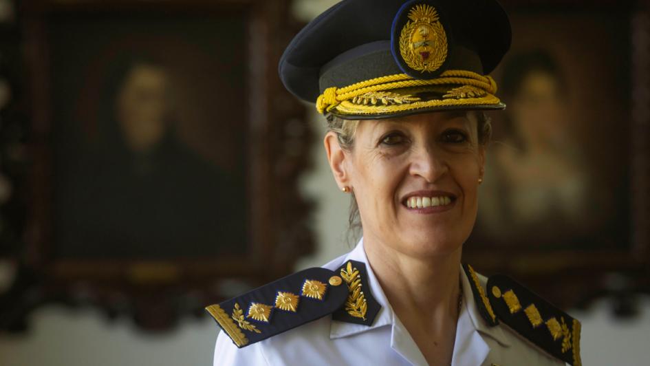 Quién es y qué piensa la primera mujer que llega a ser comisario general