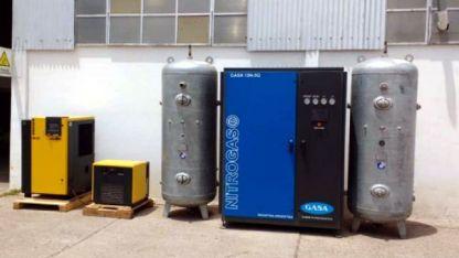 Diseño propio. La empresa Gases Aconcagua desarrolló el equipo en la década de los ´90.