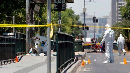Este viernes por la tarde hubo un atentado en Santiago de Chile, que dejó cinco heridos.