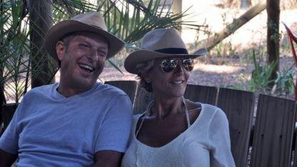 El empresario Abel Leonardo Espósito (51), asesinado en su casa de Bernal, junto a su esposa.